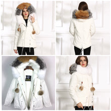 LATEST STYLE LATEST 2018 SHORT FOX FUR COLLAR WITH FULL WARM LINING PARKA COAT BOMBER JACKET