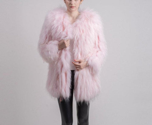 2018 All Colours New women Decent Price winter real Raccoon fur coat jacket vest hot sale big fur long sleeve