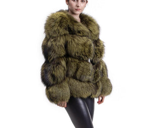 2019 SILVER FOX BEST PRICE BEST QUALITY FOX FUR WINTER THICK COAT GILLET VEST JACKET