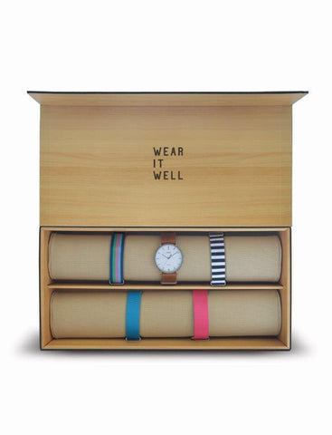 Fairfield - Box Set Mujer con 5 correas