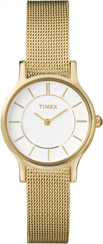 Timex® Women's Classic Slim Profile Mesh Band