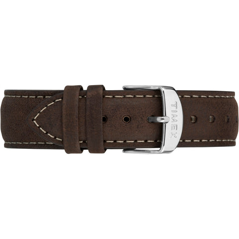Metropolitan+ Strap - Dark Brown Leather 20mm