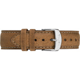 Metropolitan+ Strap - Brown Leather 20mm