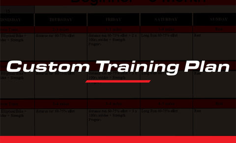 Custom Training Plan