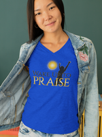 WAKE UP TO PRAISE VNECK