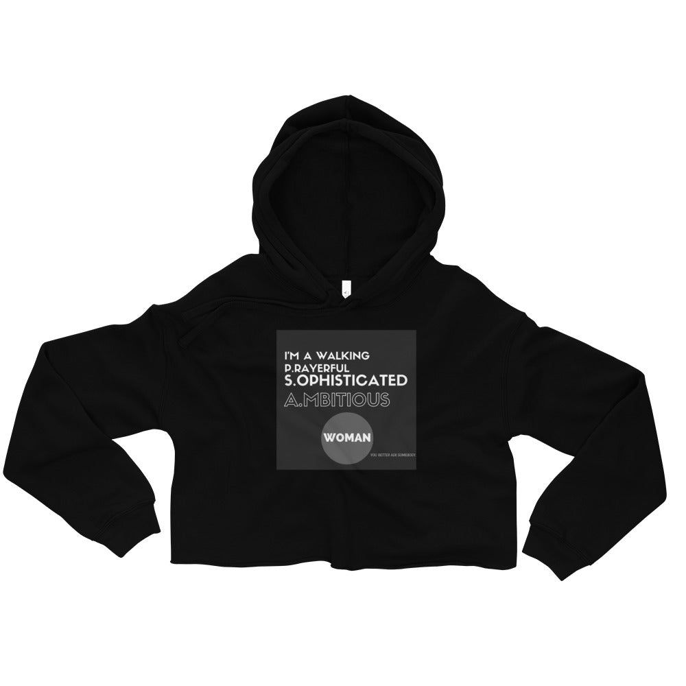 The Strong Woman Collection - PSA Crop Hoodie