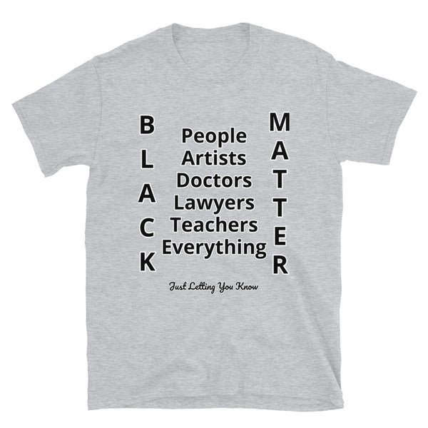 Black People Short-Sleeve Unisex T-Shirt