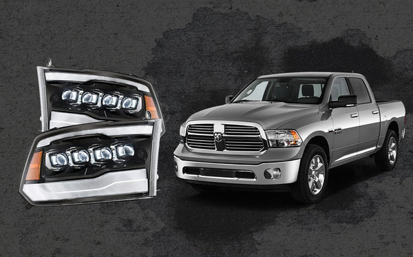 Dodge Ram Led headlights
