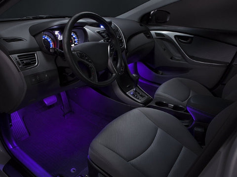 Led Lights To Illuminate The Interior Of Your Car