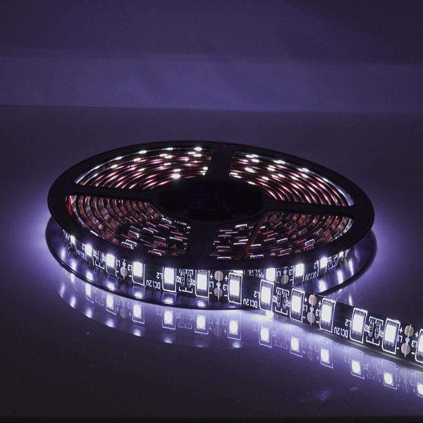 16FT 5M 5050 300 SMD LED Rolls With real 3m Red Tape - White - LEDS