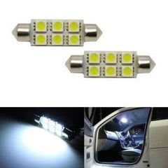 211 42mm 6 SMD Festoon Style LED Bulbs - LEDS