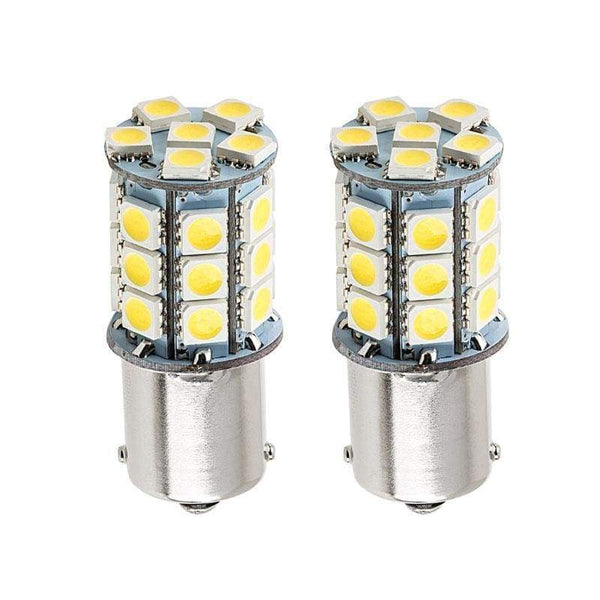 27 LED 5050 360-Degree Shine 1156 Ba15S T20 LED Bulbs (2 Pieces) - LEDS