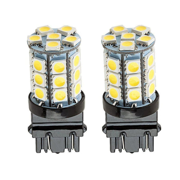27 LED 5050 360-Degree Shine 3157 4157 T20 LED Bulbs (2 Pieces) - LEDS
