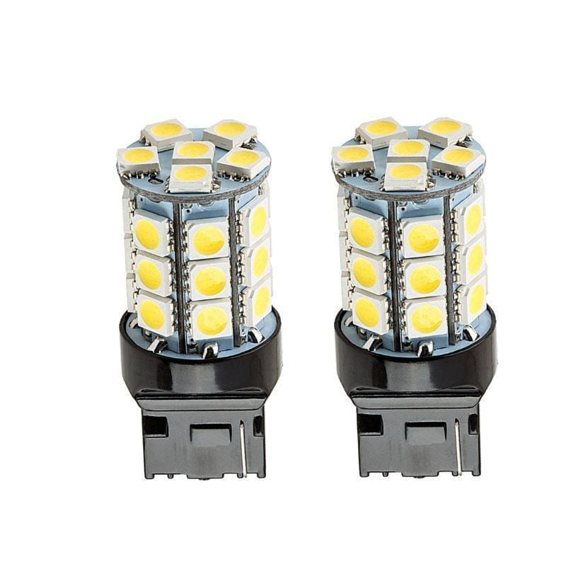 27-SMD-5050 360 Degree Shine 7440 7441 T20 LED Bulbs (2 Pieces) - LEDS