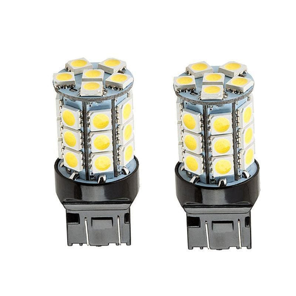 27-SMD-5050 360-Degree Shine 7443 7444 T20 LED Bulbs (2 Pieces) - LEDS