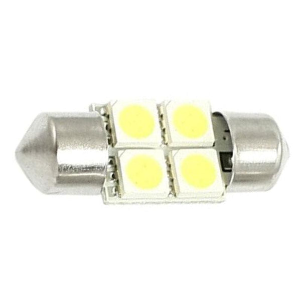 3175 31mm 4 SMD Festoon Style LED Bulb - LEDS