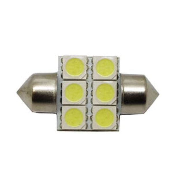 3175 31mm 6 SMD Festoon Style LED Bulb - LEDS