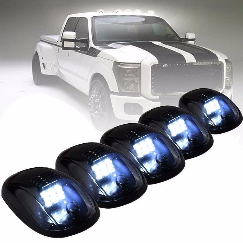 5pcs Cab Roof Top Marker Running Clearance Lights - Trucks