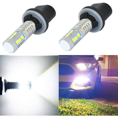 880 LED 2000LM 3030 Chips for Cars Tucks Fog Light (2 Pieces) - 6000K White - LEDS