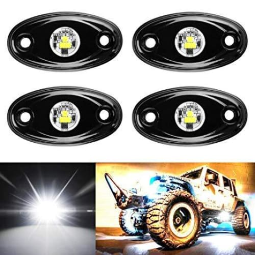 9w Off Road White LED Rock Light - Trucks