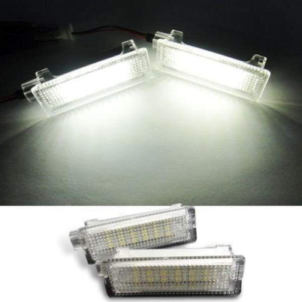BMW PNP LED Courtesy Footwell Trunk Light - No Error - E82 E90 E92 E60 E65 E70 X5 M (2 Pieces) - LEDS