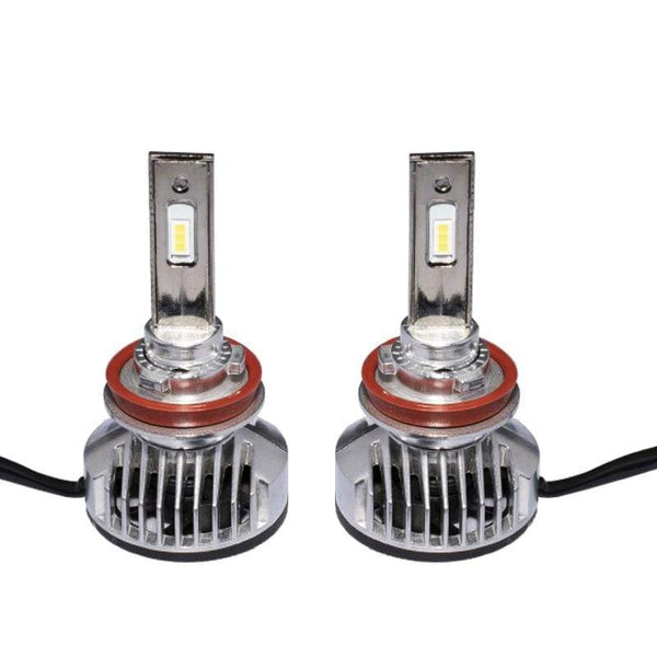 H8/H9/H11/H16 40W 6000LM PNP LED Headlight Fog Light DRL Kit (2 Pieces) - LEDS