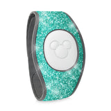 MINT TEAL - GLITTER WRAP