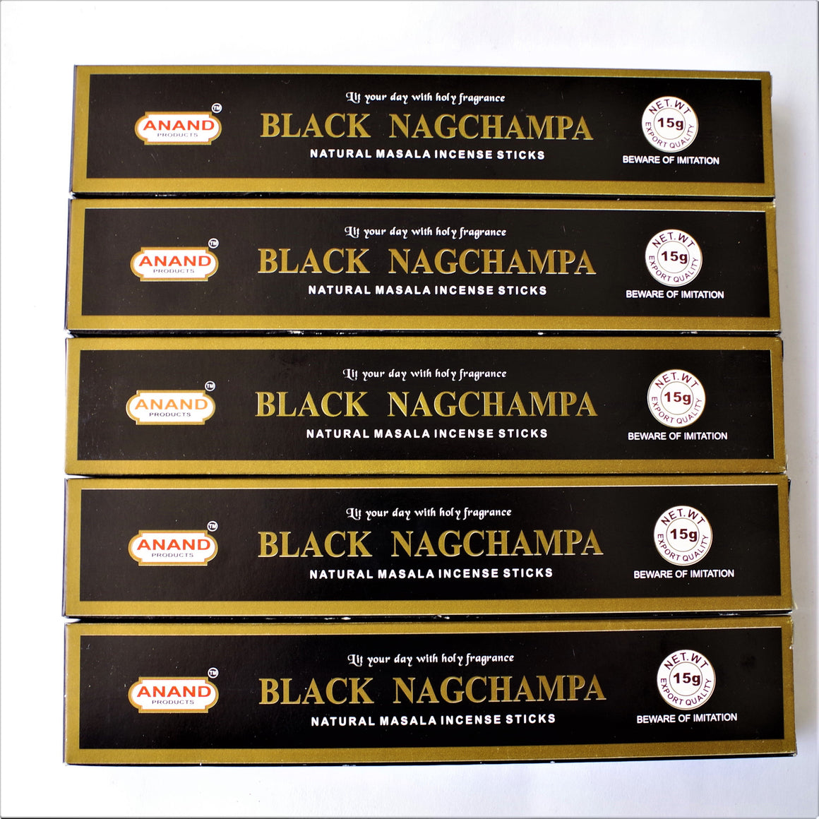 Incienso Anand Black Nag Champa