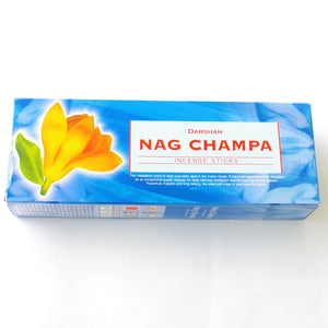 Caja de Incienso Hexagonal Darshan Nag Champa