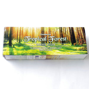Caja de Incienso Darshan Bosque Tropical