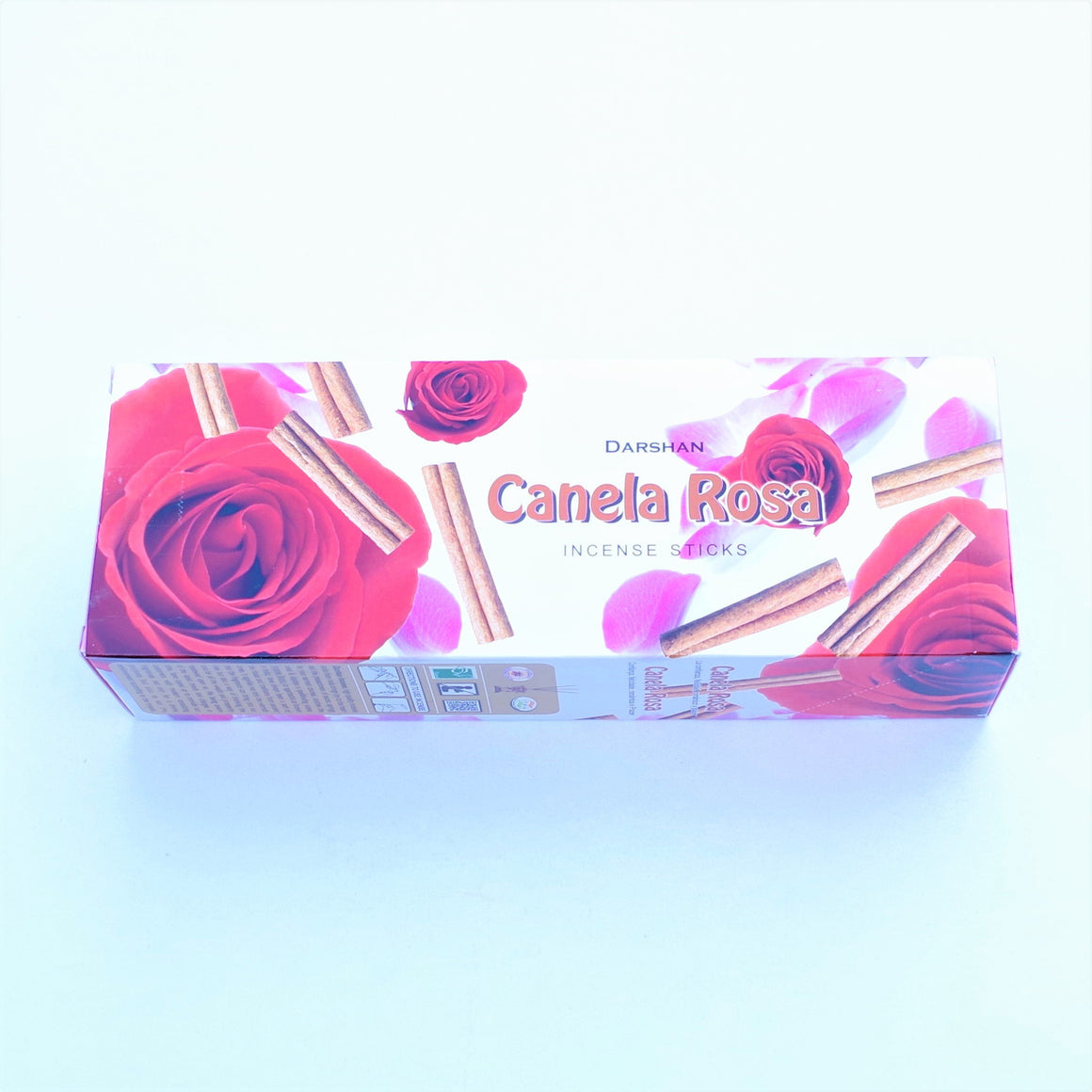 Incienso Darshan Canela Rosa (Cinnamon Rose)