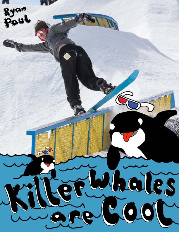 KILLER WHALES ARE COOL