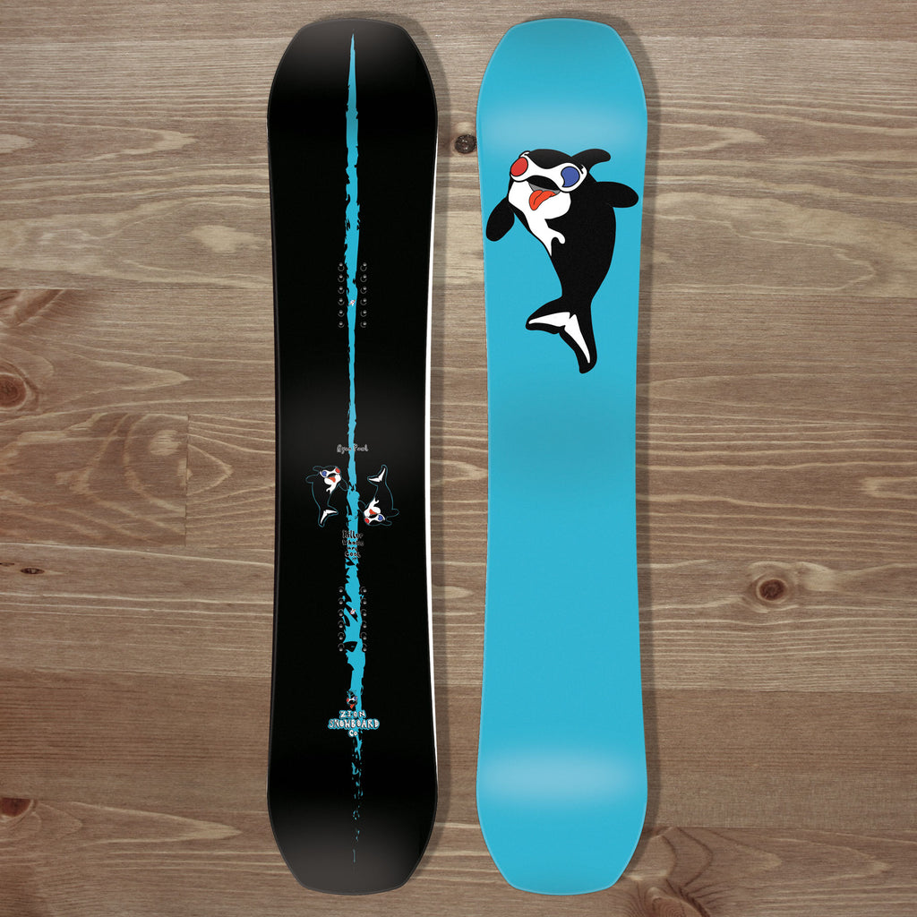 Killer Whales Are Cool Zion Snowboards