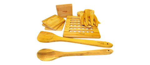 Chemical Free Bamboo Kitchen Utensils