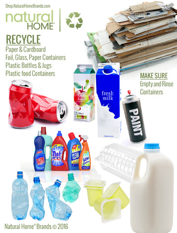 Things You Can & Cannot Recycle - Information Guide
