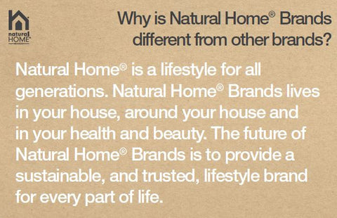 Natural Home Products - About Our Products