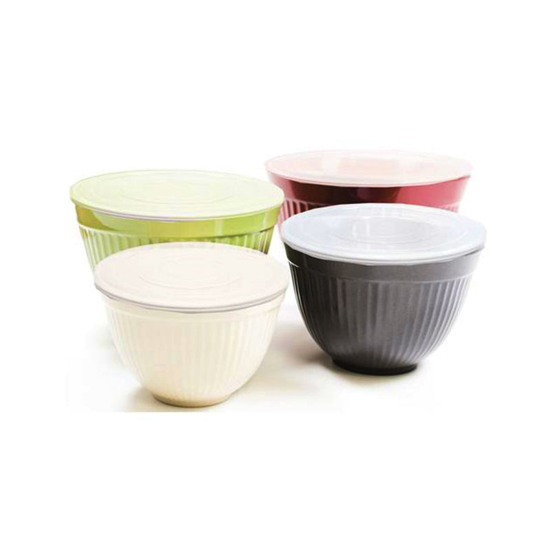 Molded Bamboo® Storage Bowls With Lids