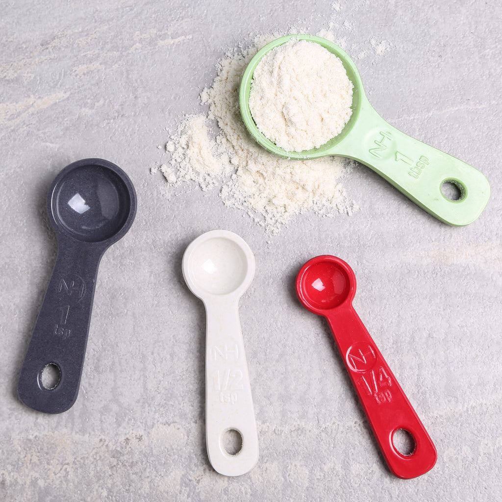 Measuring Spoons Molded Bamboo® Mixed Colors