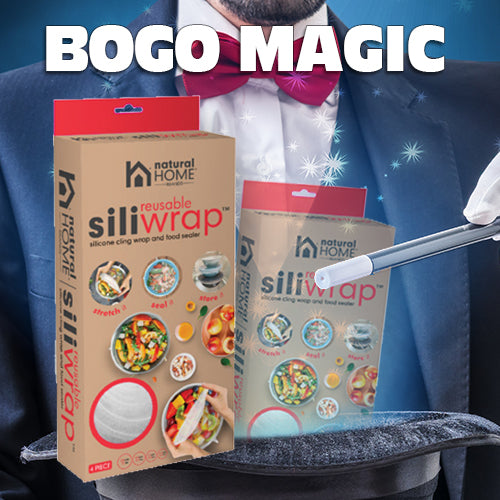 BOGO Special on SiliWrap™ Silicone Stretch Wrap