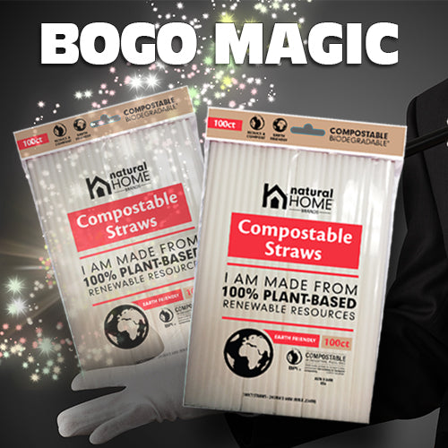 BOGO Special on Compostable Straws