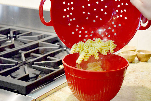Kitchen Pasta Colander - Molded Bamboo®