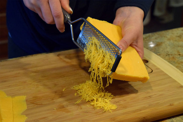 Medium Fine Cheese Grater/Microplane - Molded Bamboo® & Stainless Steel