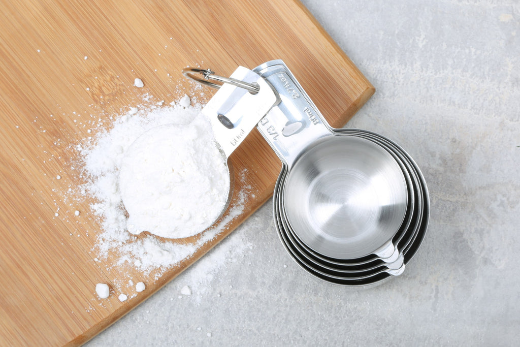 6 Pc Stainless Steel Measuring Cups