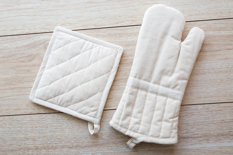 Kitchen Oven Mitt - Organic Cotton