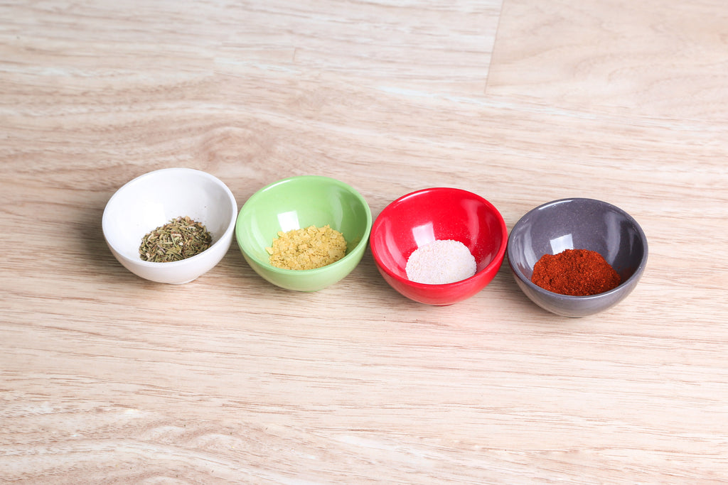 Pinch Bowls - 4 Pack - Molded Bamboo®