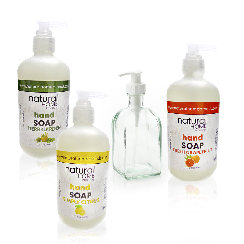 Soap & Dispenser + Refills Group