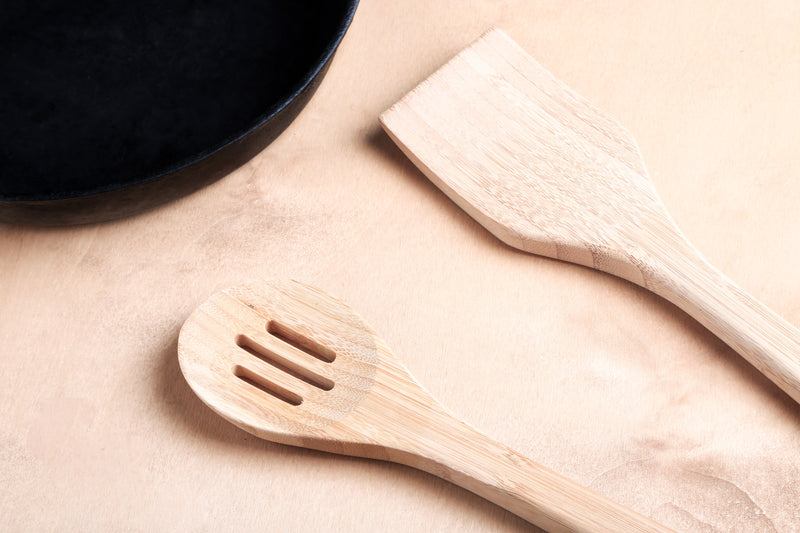 Bamboo Utensil Set - 4 Piece