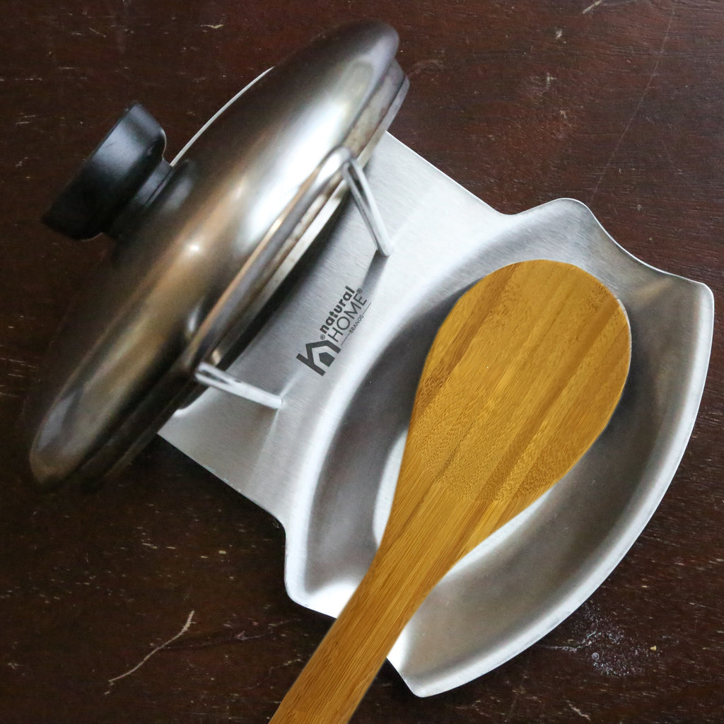 Stainless Steel Lid & Spoon Rest