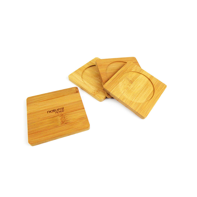 Coasters - 4 Pack - Bamboo