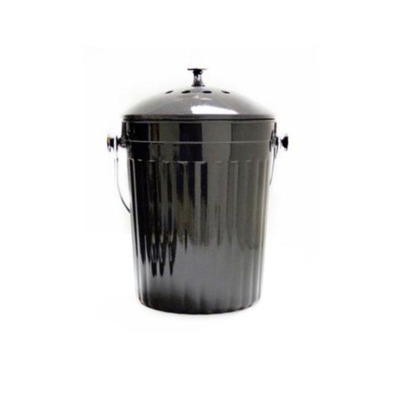 Kitchen Compost Bin with Charcoal Filter 1 Gallon - Molded Bamboo®